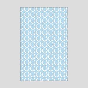 Horseshoe Pattern Mini Poster Print
