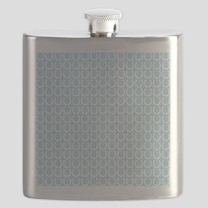 Horseshoe Pattern Flask