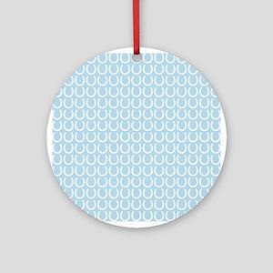Horseshoe Pattern Ornament (Round)