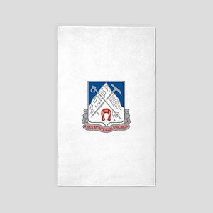 87th Infantry Regiment 3'x5' Area Rug