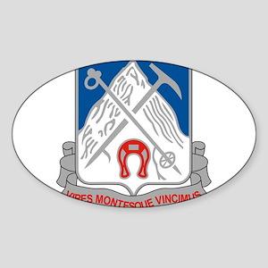 87th Infantry Regiment Sticker