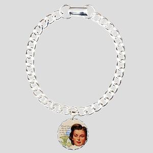 Nurses in Charge Vintage Charm Bracelet, One Charm