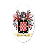 Greally Oval Car Magnet