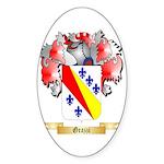 Grazzi Sticker (Oval 50 pk)
