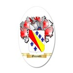 Graziotti 35x21 Oval Wall Decal