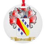Grazi Round Ornament