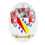 Grazi Ornament (Oval)