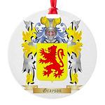 Grayson Round Ornament