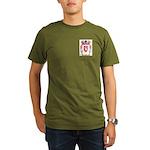 Gray Organic Men's T-Shirt (dark)