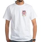 Gray White T-Shirt