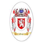 Gray Sticker (Oval 50 pk)