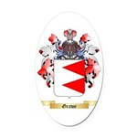 Grawe Oval Car Magnet