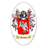 Graves Sticker (Oval)
