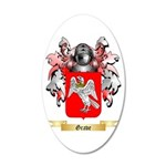 Grave 20x12 Oval Wall Decal