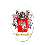 Grave 35x21 Oval Wall Decal