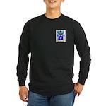 Grau Long Sleeve Dark T-Shirt