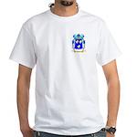 Grau White T-Shirt