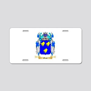 Grau Aluminum License Plate