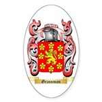Grassman Sticker (Oval 50 pk)