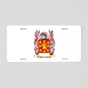 Grassman Aluminum License Plate