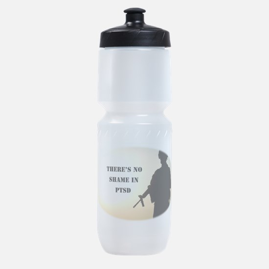 No Shame in PTSD Sports Bottle