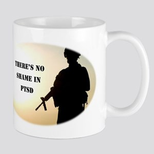 No Shame in PTSD Mugs