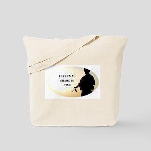 No Shame in PTSD Tote Bag