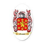 Grassie Oval Car Magnet