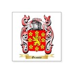 Grassie Square Sticker 3