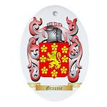 Grassie Ornament (Oval)