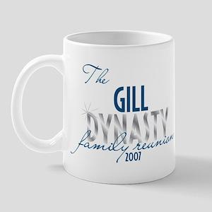 GILL dynasty Mug