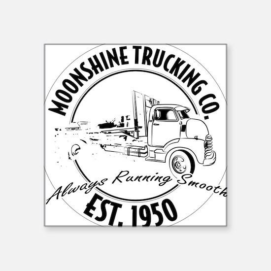 Moonshine hauling truck Sticker