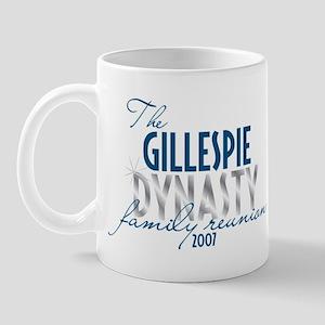 GILLESPIE dynasty Mug
