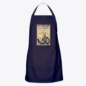 To Export or Not  Apron (dark)