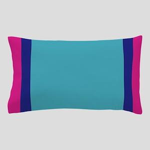 frozen color pink blue ice 5x7 Pillow Case