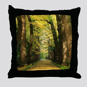 Ginkgo biloba trees Throw Pillow