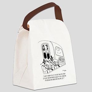 Flying Cartoon 7547 Canvas Lunch Bag