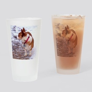 Honey Drinking Glass