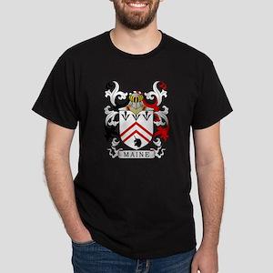 Maine Coat of Arms II Dark T-Shirt