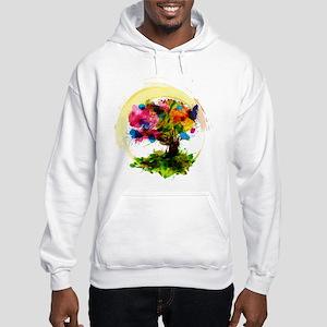 Watercolor Tree of Life Hoodie