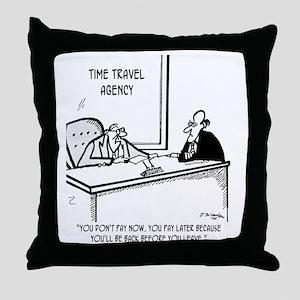 Time Cartoon 5138 Throw Pillow