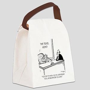 Time Cartoon 5138 Canvas Lunch Bag