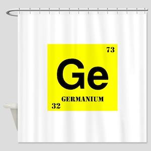 Germanium Shower Curtain