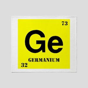 Germanium Throw Blanket
