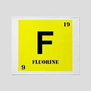 Flourine Throw Blanket