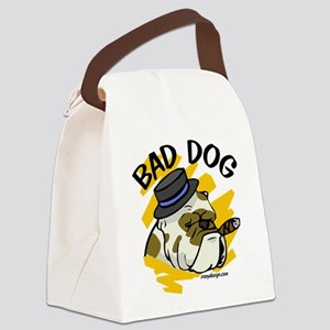 Bad Dog Canvas Lunch Bag