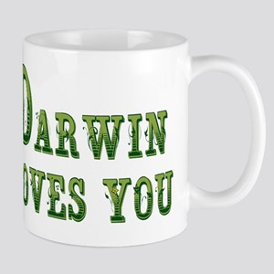 Darwin Loves You Mugs