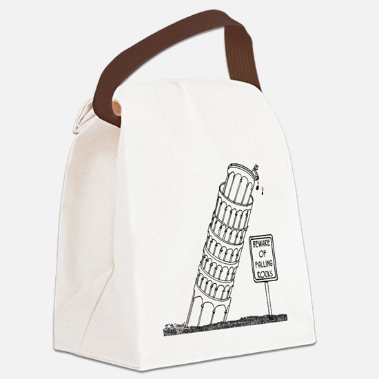 Galileo Cartoon 0958 Canvas Lunch Bag