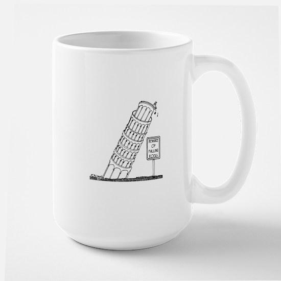 Galileo Cartoon 0958 Large Mug