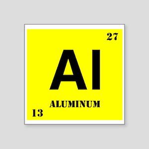 Aluminum Sticker